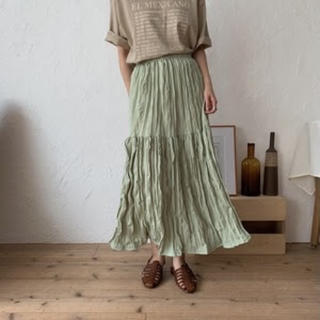 TODAYFUL - nokcha rincl easy skirt