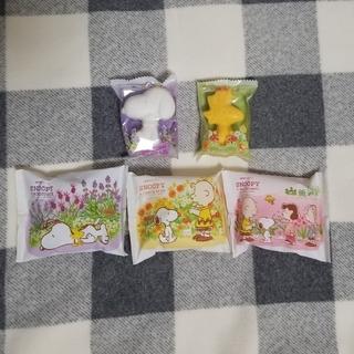スヌーピー(SNOOPY)のスヌーピー 石鹸 5個セット(ボディソープ/石鹸)