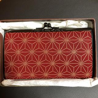 インデンヤ(印傳屋)の印傳屋 上原勇七 がま口財布 レア物  未使用品(財布)