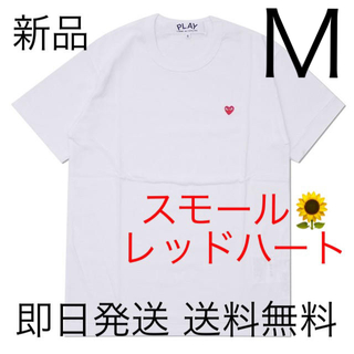 COMME des GARCONS - 入手困難 Mサイズ プレイコムデギャルソン スモールハート Tシャツ 国内正規品