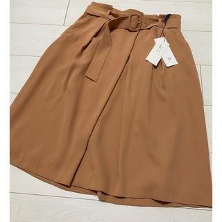 クミキョク(kumikyoku(組曲))の新品未使用 タグ付き クミキョク スカート(ひざ丈スカート)