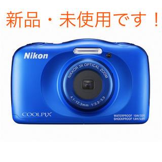 ニコン(Nikon)のニコン COOLPIX W150 BL デジタルカメラ ブルー(コンパクトデジタルカメラ)