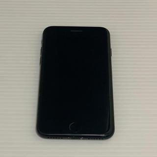 アップル(Apple)のiPhone 7 128GB SIMフリー ジェットブラック 本体のみ(スマートフォン本体)