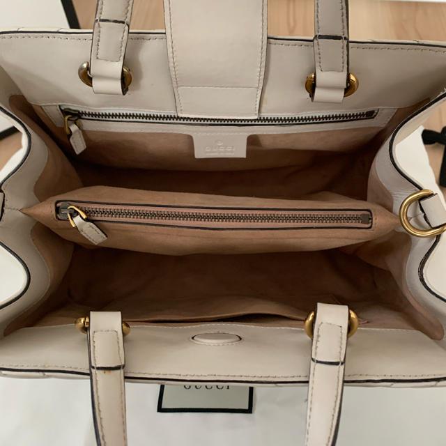 Gucci(グッチ)のGUCCI GGマーモント ハンドバッグ ショルダーバッグ  シェブロン レディースのバッグ(ショルダーバッグ)の商品写真