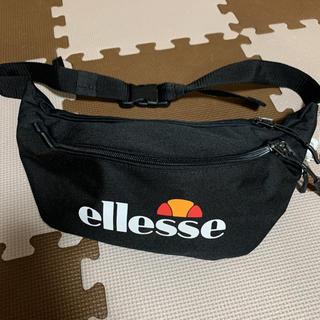 エレッセ(ellesse)のエレッセ ウエストポーチ ブラック 新品 バッグ(ボディバッグ/ウエストポーチ)