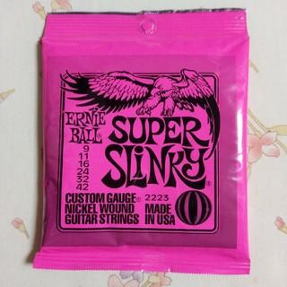 エレキギター弦 ERNIE BALL SUPER SLINKY(弦)
