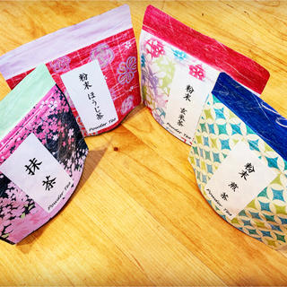 粉末茶 4種類セット(煎茶、玄米茶、ほうじ茶、抹茶)(茶)