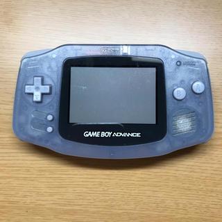ニンテンドウ(任天堂)のゲームボーイアドバンス ソフト付き(携帯用ゲーム機本体)