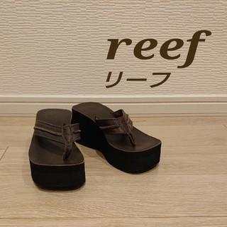 reef リーフ ビーチサンダル 革 ハワイ レディース(ビーチサンダル)