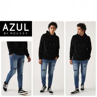 アズールバイマウジー(AZUL by moussy)の美品☆ ジョガーパンツ AZUL by moussy(デニム/ジーンズ)
