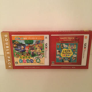 ニンテンドー3DS(ニンテンドー3DS)のとびだせ どうぶつの森 amiibo+・トモダチコレクション 新生活 ダブルパッ(携帯用ゲームソフト)