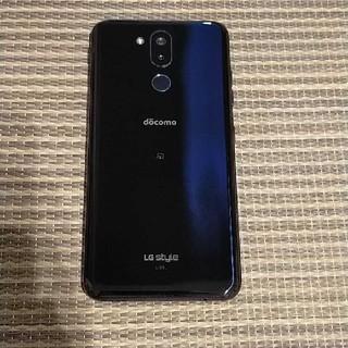 エルジーエレクトロニクス(LG Electronics)のLG style2 L-01L ジャンク品 液晶不具合(スマートフォン本体)