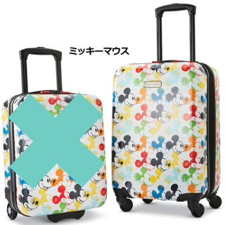 ディズニー(Disney)のディズニー キャリーケース ミッキー  20インチ(スーツケース/キャリーバッグ)