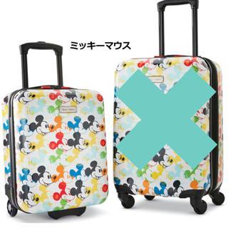 ディズニー(Disney)のディズニー キャリーケース ミッキー  18インチ(スーツケース/キャリーバッグ)