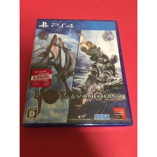 プレイステーション4(PlayStation4)のBAYONETTA&VANQUISH PS4 未開封品(家庭用ゲームソフト)