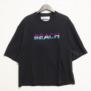 "Jieda - 【菅田将暉着用】DAIRIKU ""BEACH"" Tシャツ black"