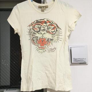 エドハーディー(Ed Hardy)のエドハーディー Tシャツ Ed Hardy EdHardy 虎 タイガー(Tシャツ(半袖/袖なし))