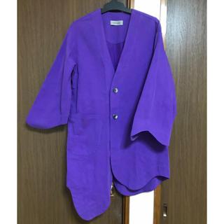 ジャケット コート 羽織 コレルコレル(ノーカラージャケット)
