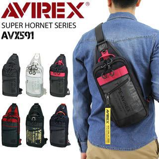 アヴィレックス(AVIREX)のAVIREX ボディバッグ  斜めがけバッグ ワンショルダーバッグ AVX591(ボディーバッグ)