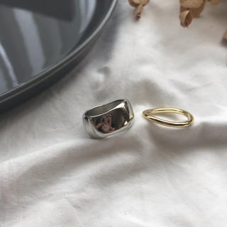 BEAUTY&YOUTH UNITED ARROWS - 【RG-3C】stacking rings set