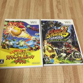 ウィー(Wii)のwii ソフト 2本セット(家庭用ゲームソフト)