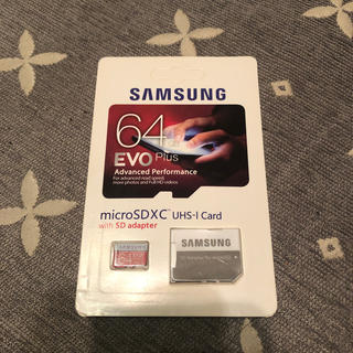 サムスン(SAMSUNG)の新品SDマイクロカード 64GBサムスン(その他)