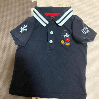 BABYDOLL - ベビードールミッキーポロシャツ70