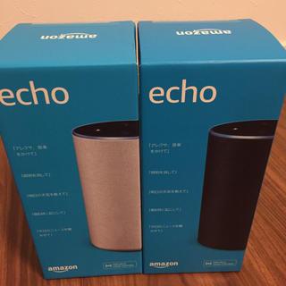エコー(ECHO)のEcho 第2世代 -スマートスピーカー with Alexa 新品未開封(スピーカー)