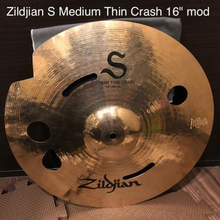 "Zildjian S Medium Thin Crash 16"" mod(シンバル)"