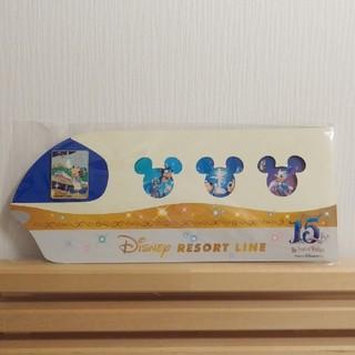 ディズニー(Disney)のリゾートラインピンバッジ☆東京ディズニーシー15周年(バッジ/ピンバッジ)