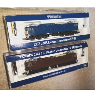 EF62 ブルー、ブラウンセット(鉄道模型)