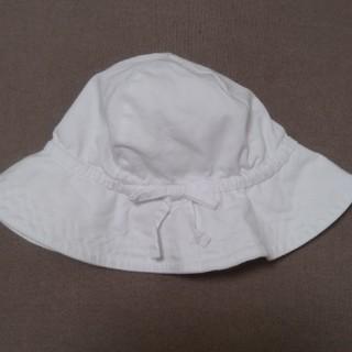 babyGAP - baby GAP ベビー帽子 44㎝ 白