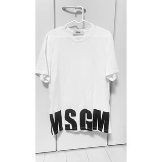 エムエスジイエム(MSGM)のmsgm 裾ロゴ Tシャツ(Tシャツ(半袖/袖なし))