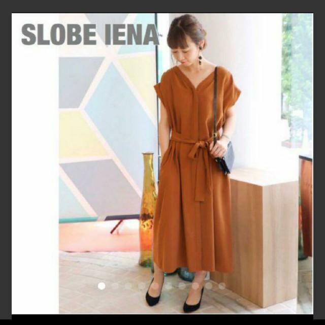 IENA SLOBE(イエナスローブ)のSLOBE IENA とろみワンピース レディースのワンピース(ロングワンピース/マキシワンピース)の商品写真