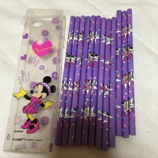 ディズニー(Disney)のディズニーのミニーの鉛筆セット!(鉛筆)