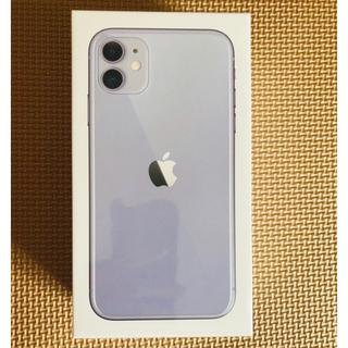 アップル(Apple)のiphone 11ホワイト128GB SIMフリー(スマートフォン本体)