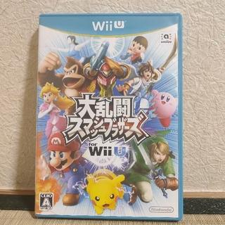 ニンテンドウ(任天堂)の★Wii U 大乱闘スマッシュブラザーズfor Wii U★(家庭用ゲームソフト)