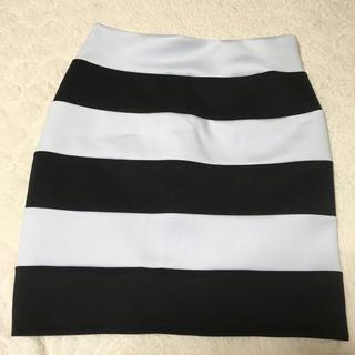 ユメテンボウ(夢展望)のタグ付き未使用ボーダースカート(ミニスカート)