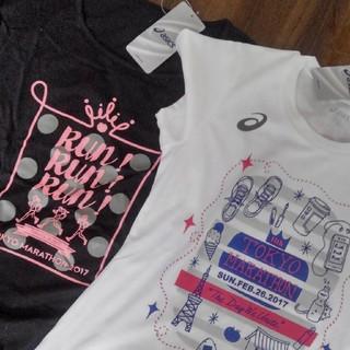 アシックス(asics)の(タグ付き未使用)asics  Tシャツ 2枚セット(Tシャツ(半袖/袖なし))