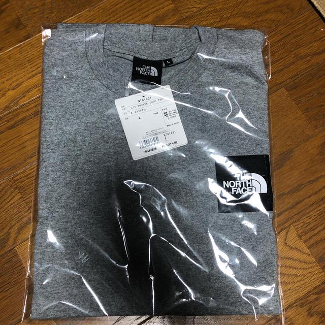 THE NORTH FACE(ザノースフェイス)のthe north face スクエアロゴ ロンT 新品未使用サイズ L メンズのトップス(Tシャツ/カットソー(七分/長袖))の商品写真