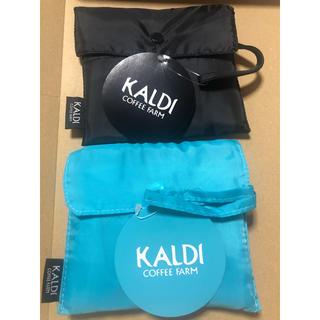 KALDI - カルディ エコバッグ 黒と青