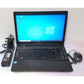 東芝 - 東芝 ノートパソコン Windows10 エクセル ワード DVDマルチ