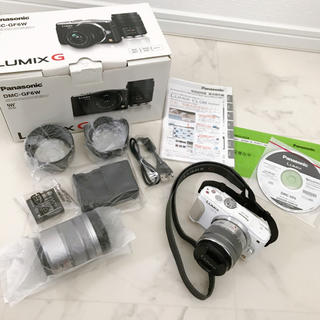 Panasonic - Panasonic DMC-GF6W LUMIX G 一眼レフカメラ ホワイト