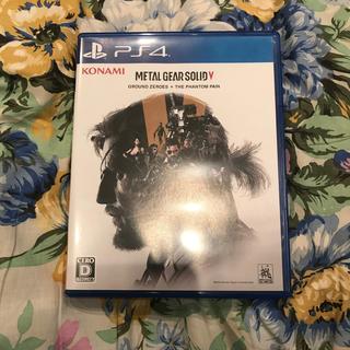 プレイステーション4(PlayStation4)のメタルギア ソリッド V グラウンド・ゼロズ + ファントムペイン PS4(家庭用ゲームソフト)
