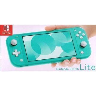 ニンテンドースイッチ(Nintendo Switch)の■新品未開封■「Nintendo Switch Lite ターコイズ」■任天堂(携帯用ゲーム機本体)