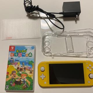 ニンテンドースイッチ(Nintendo Switch)のSwitchライト あつまれどうぶつの森ソフト(家庭用ゲーム機本体)