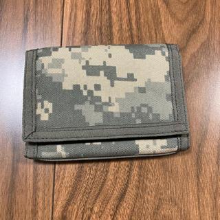 財布 迷彩 米軍(折り財布)