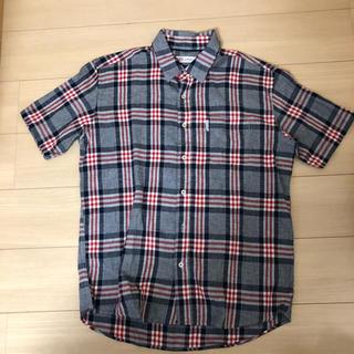 カンゴール(KANGOL)のカンゴール リネン チェックシャツ 半袖シャツ(シャツ)