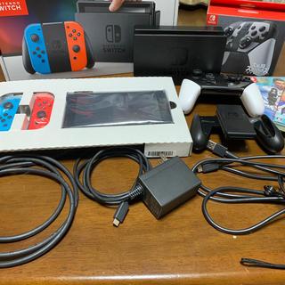 ニンテンドースイッチ(Nintendo Switch)のNintendo Switch Joy-Con (L) ネオンブルー/ (R) (家庭用ゲーム機本体)