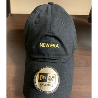 ニューエラー(NEW ERA)のニューエラ  NEW ERA キャップ 9THIRTY ブラック × ゴールド(キャップ)